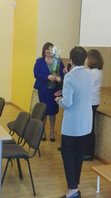 LSDMS Mažeikių moterų klubo atstovės dalyvavo konferencijoje